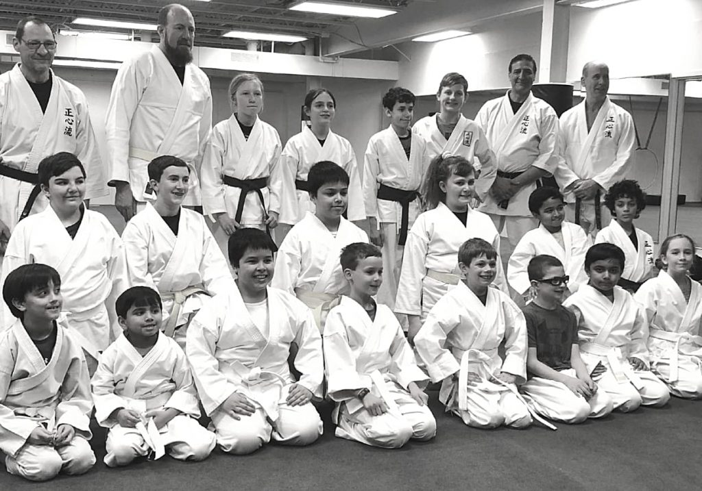 shoshin ryu minnesota martial arts - martial arts for the family - group picture